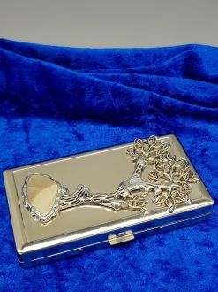 BUSINESS CARD HOLDER TREE OF LIFE