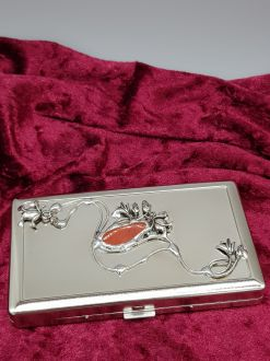 FLOWERS OF LOVE CIGARETTE CASE