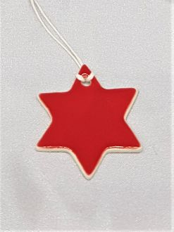 CERAMIC DECORATIONS STAR
